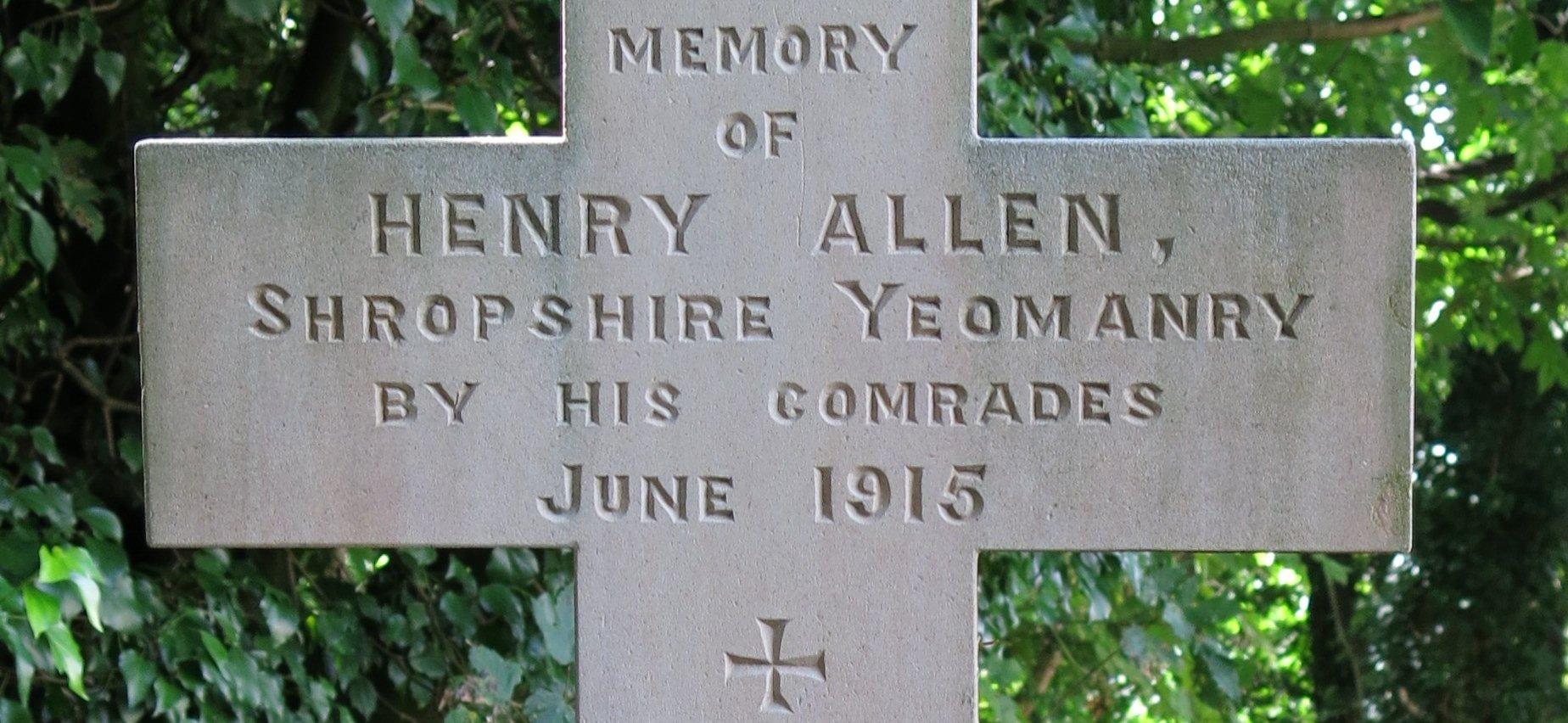Private Henry Allen